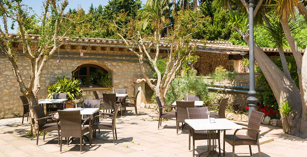 Restaurant Sa Bassa Rotja, Landhotel in Mallorca